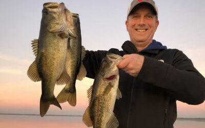 February Lake Toho Fishing Report from Kissimmee Florida
