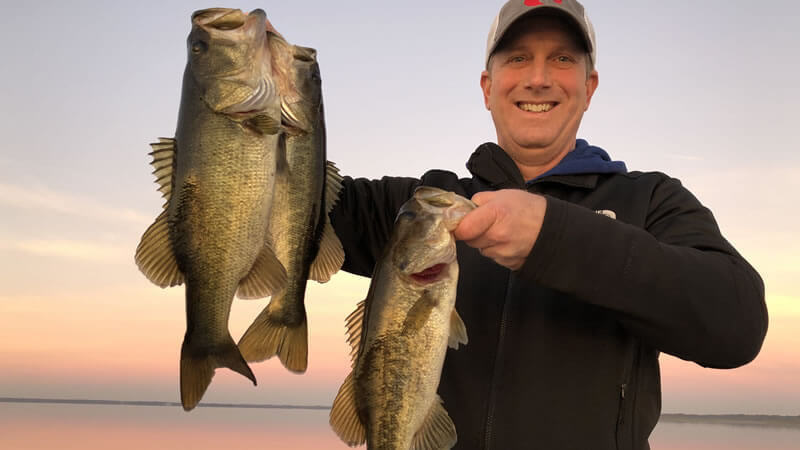 February Lake Toho Fishing Report from Kissimmee Florida