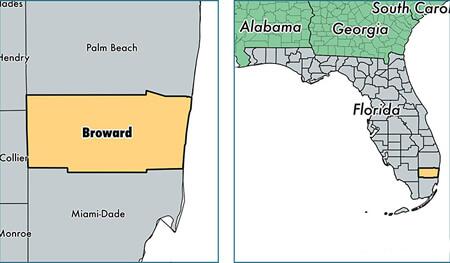 Broward County Florida Map