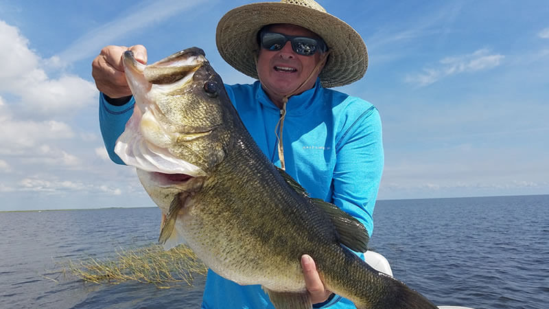 Clewiston Trophy Largemouth Bass Fishing