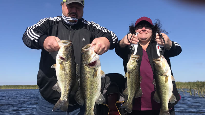 March Okeechobee Fishing Trip for Florida Largemouth Bass