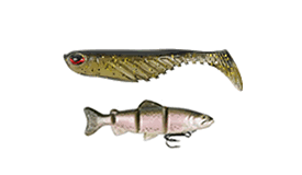 Swimbaits - soft and hard baits