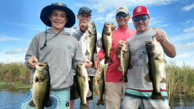 Youth Family Bass Fishing on Okeechobee
