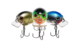 crank baits - wow factor artificial lures