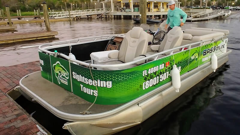 Lake Okeechobee Pontoon Charter