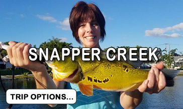Snapper Creek Canal Fishing