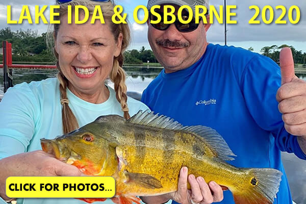 2020 Lake Ida Peacock Bass Pictures