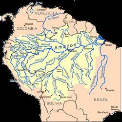 Brazil Amazon River Basin