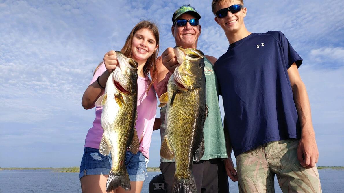 famous stick marsh biggest bass - central florida bass fishing