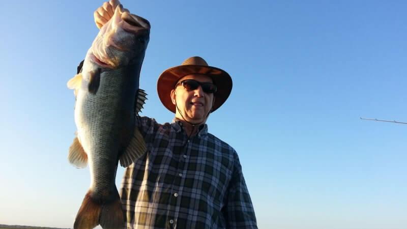 Lake George Trophy Bass fishing