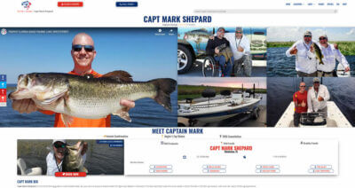 Book fishing guides online