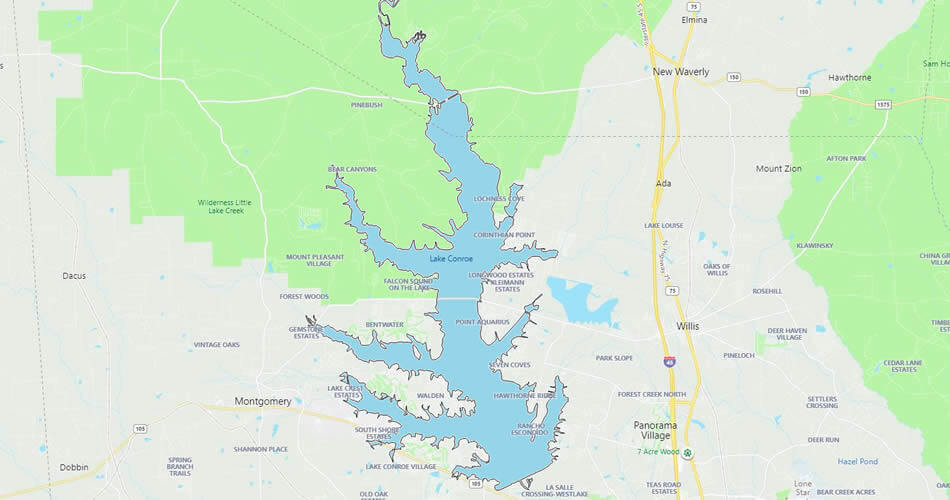 Lake Conroe, Texas