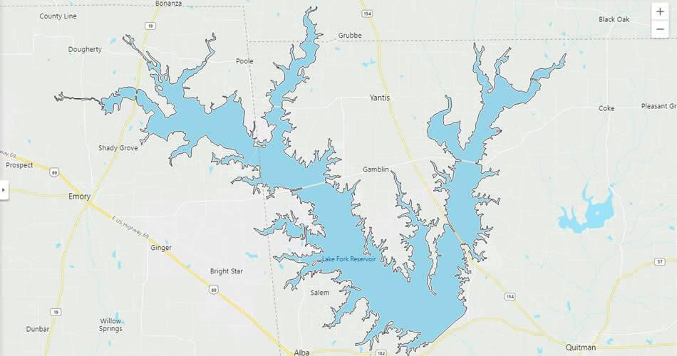 Lake Fork Texas
