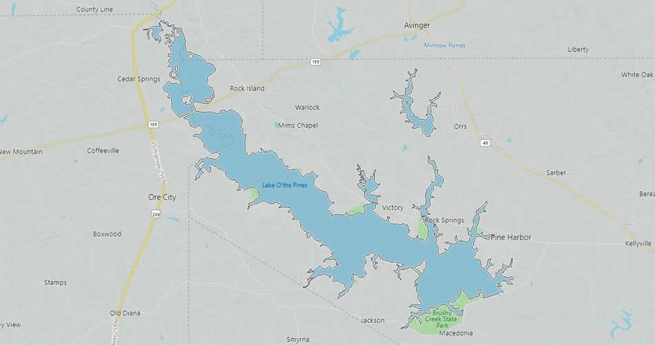 Lake O' the Pines, Texas