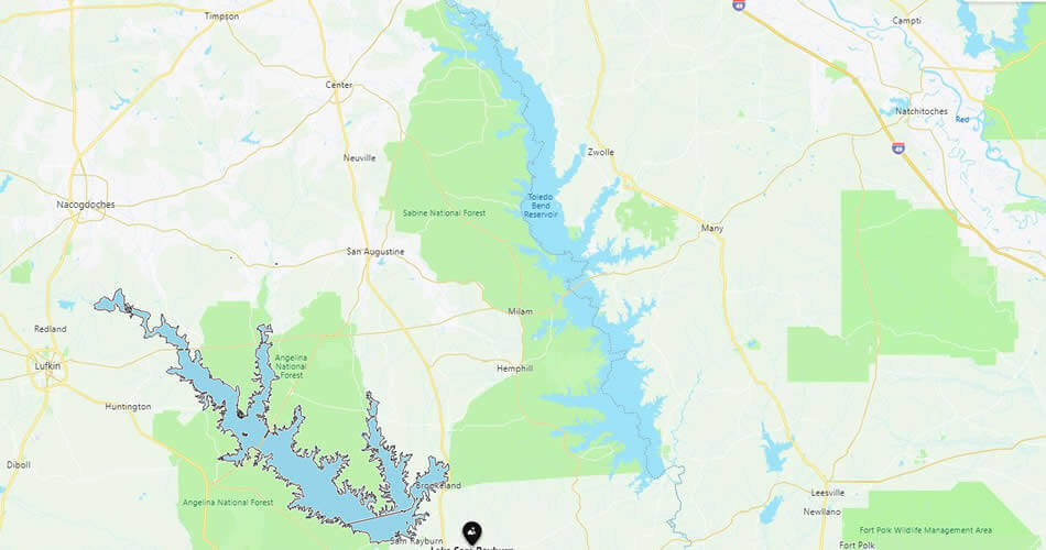Toledo Bend Reservoir, Texas