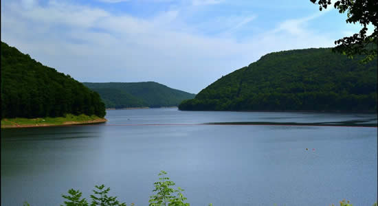 Kinzua Lake PA - Lake Wallenpaupack Fishing charters