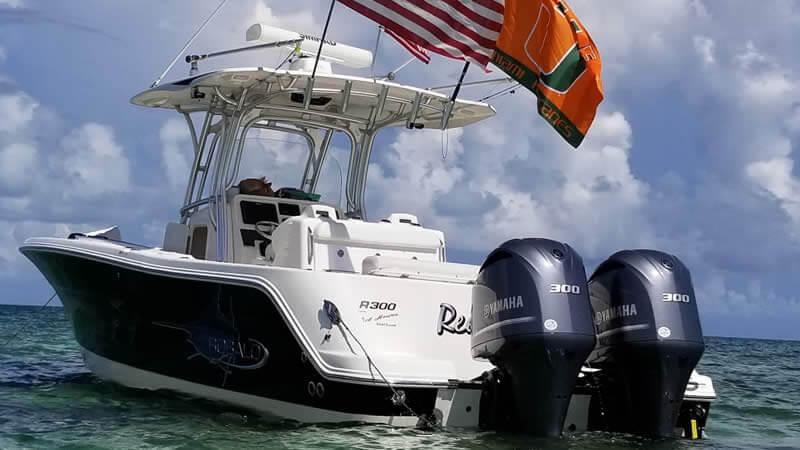 Big Saltwater offshore boat