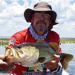 Walt Disney world trophy bass fishing captain