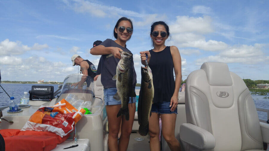 Lake Toho pontoon fishing