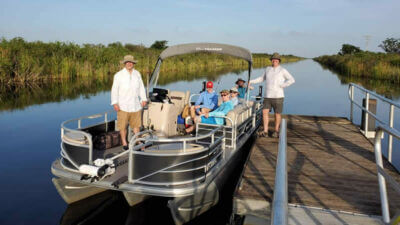 Fort Lauderdale peacock bass fishing trip