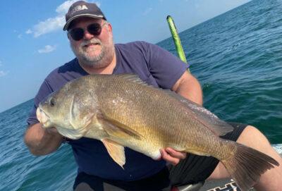 Ohio Freshwater Drum Fishing