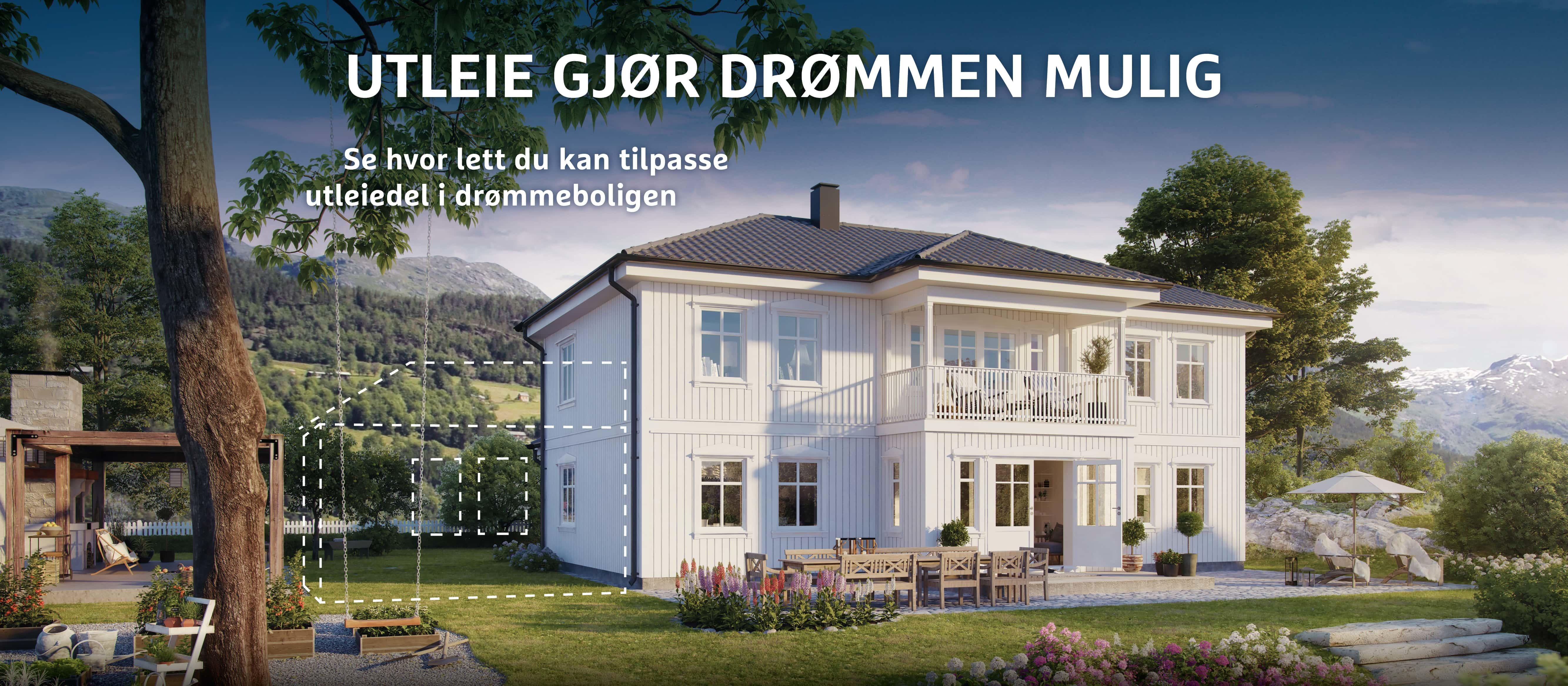 Ferdighus med utleie bygg hus med utleie | BoligPartner