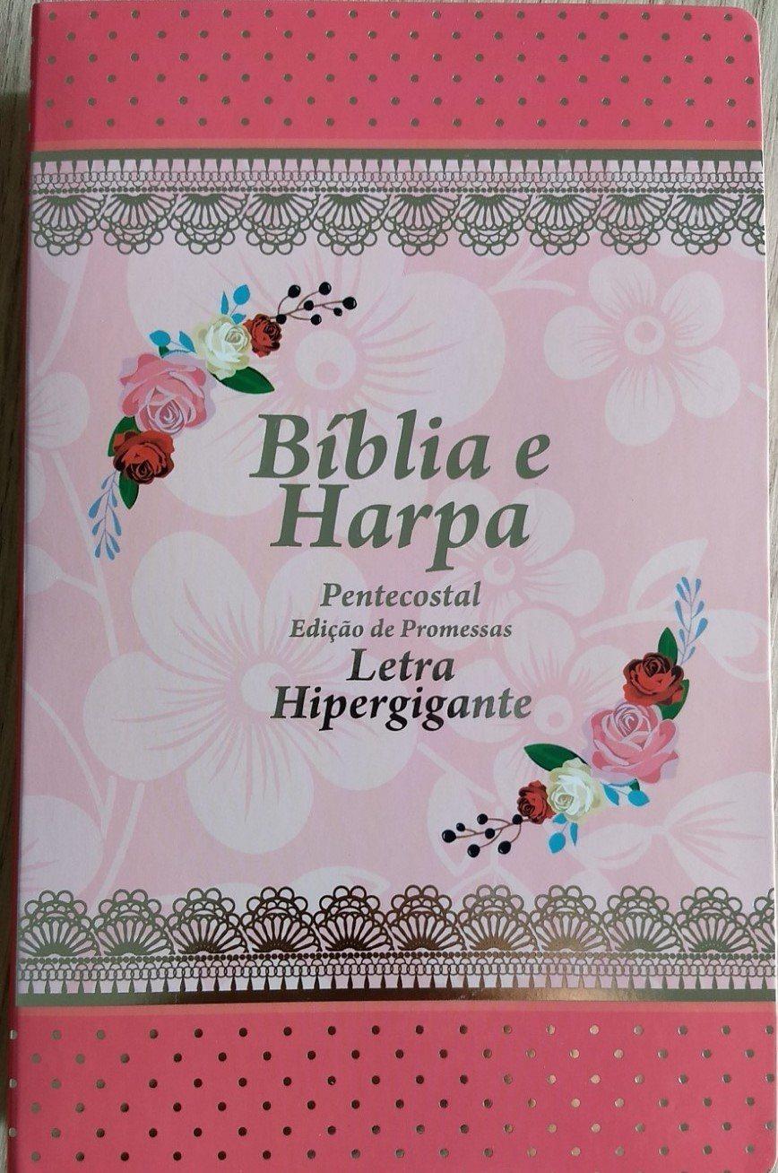 Bíblia Feminina com Harpa