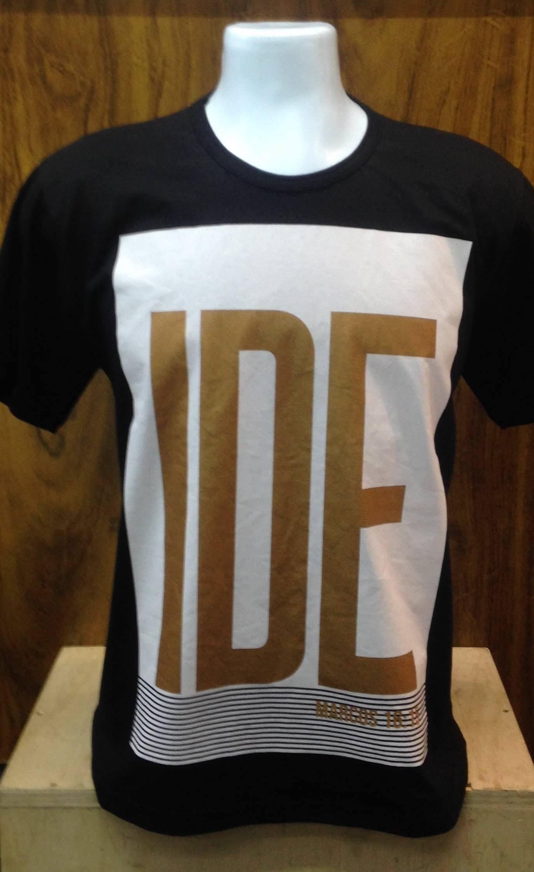 Camiseta Básica -Preta IDE