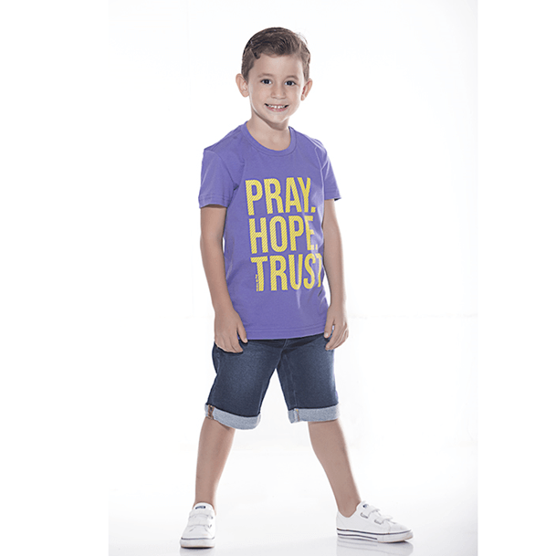 Camiseta Infantil Pray Hope Trust