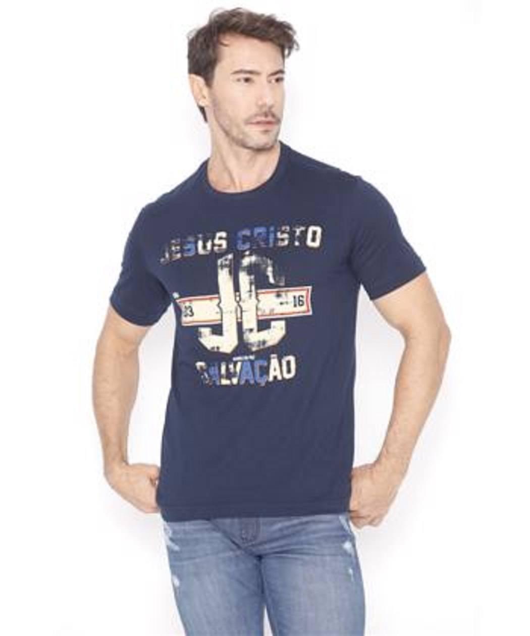 Camiseta Jesus Cristo Salvação