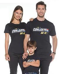 Camiseta Marka da Paz - Combate da Fé
