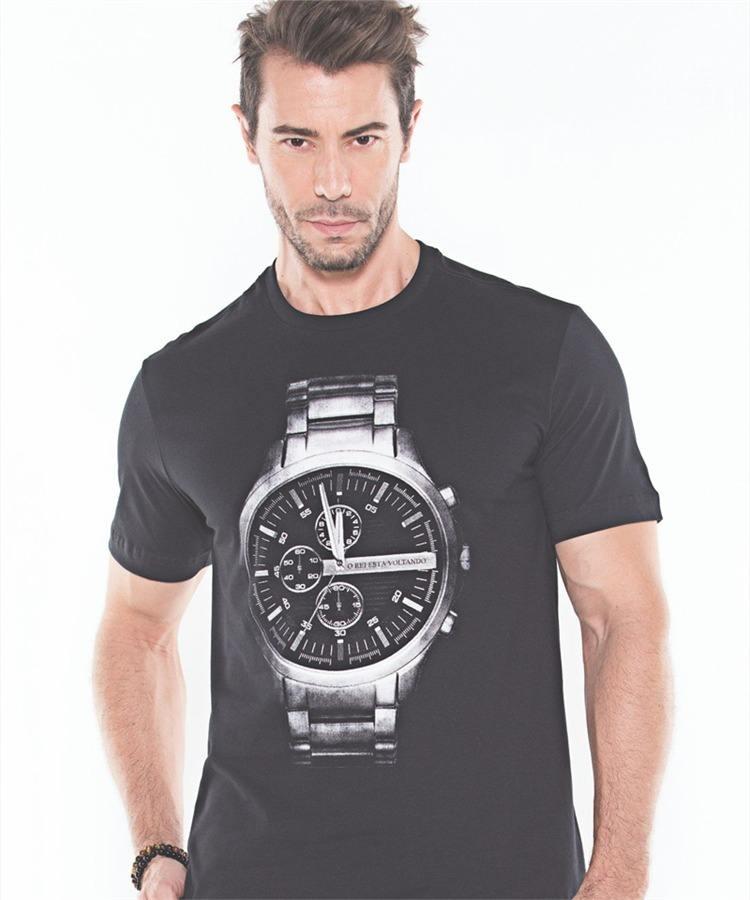 Camiseta Marka da Paz - O Rei Esta Voltando