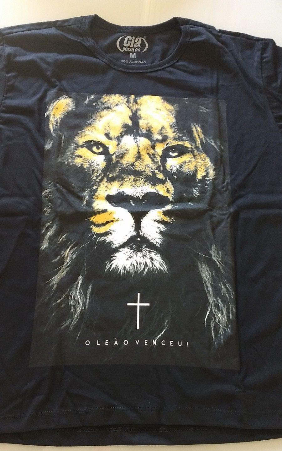 Camiseta O Leão Venceu