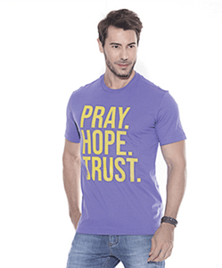 Camiseta Pray Hope Trust
