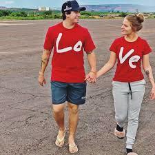 KIT LOVE Vermelho Marka da Paz (2 camisetas)