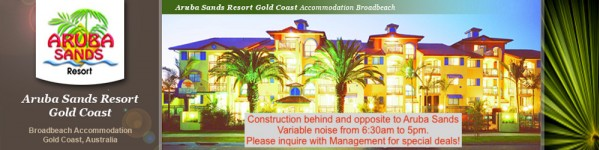 Aruba Sands Resort Apartments Gold Coast