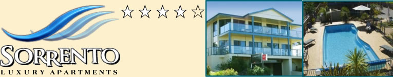 Sorrento Luxury Apartments merimbula