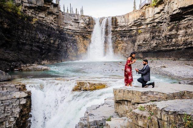 NKoz Photography's Rocky Mountain Proposal Family Photo