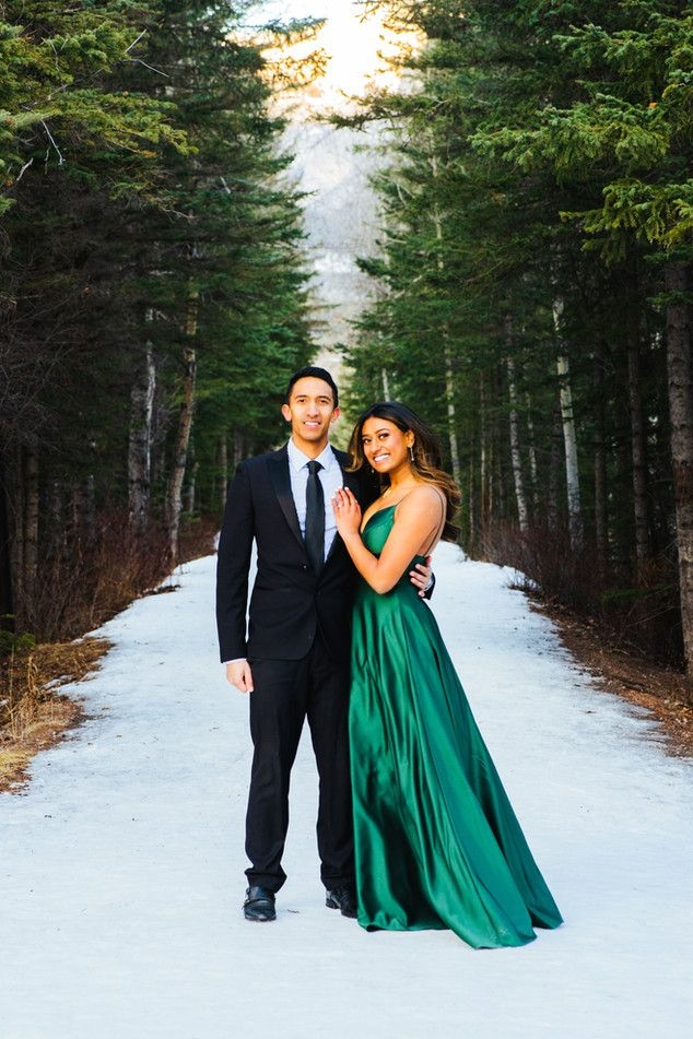 NKoz Photography's Canmore Engagement Session Family Photo