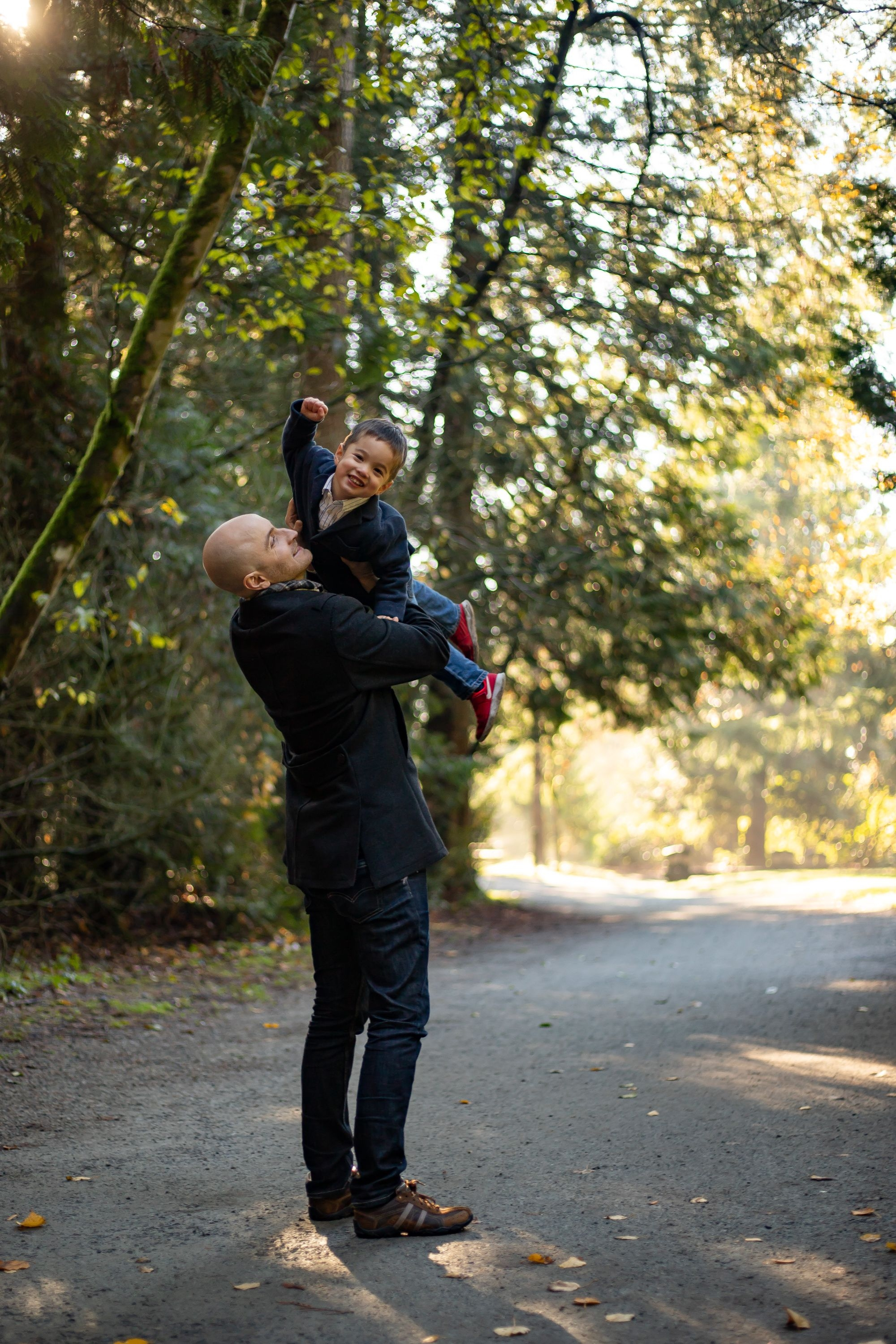 Hannah T. Photography's Central Park Family Full Session Family Photo Vancouver, BC, Canada