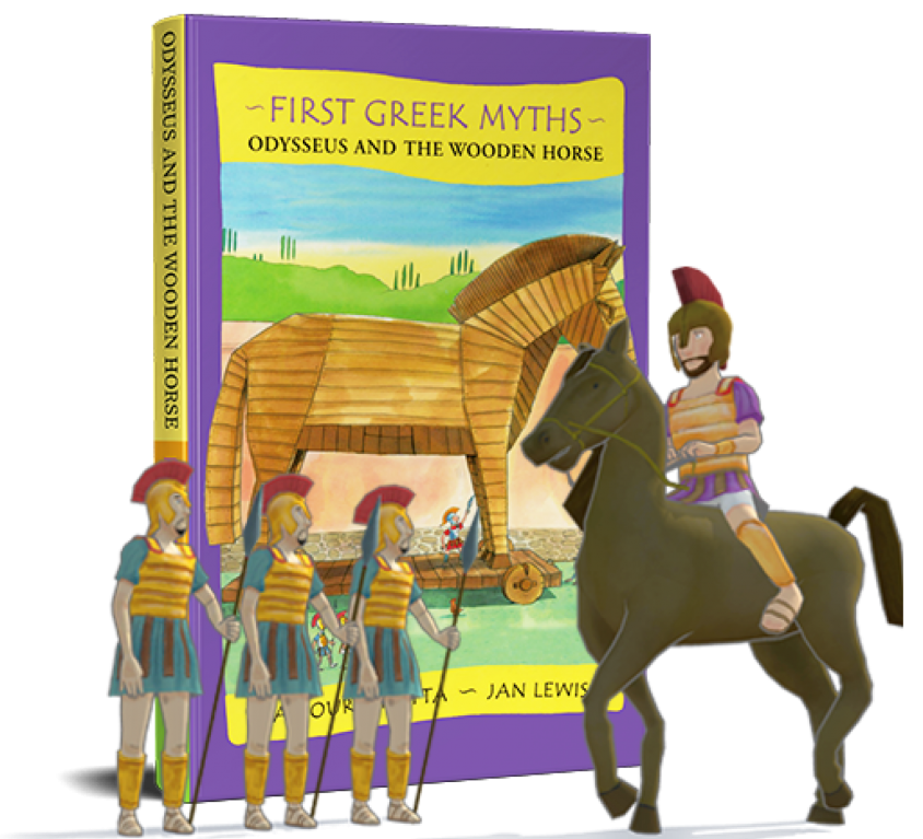 First Greek Myths: Odysseus and the Wooden Horse