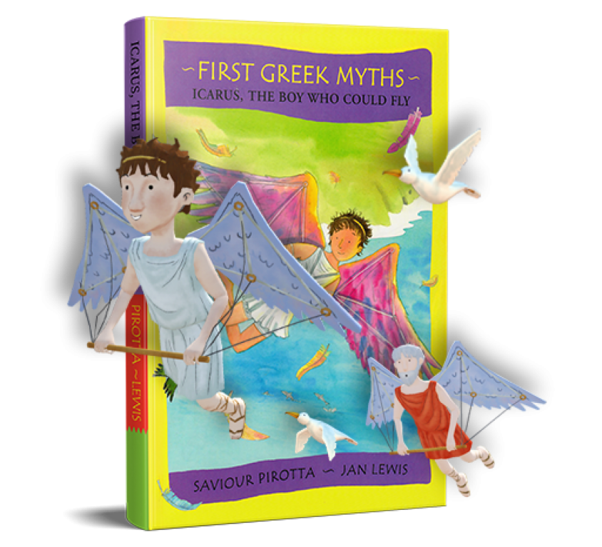 First Greek Myths: Icarus, the Boy Who Could Fly