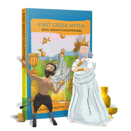 First Greek Myths: King Midas's Goldfingers