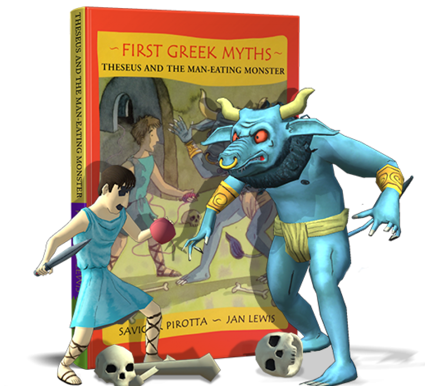 First Greek Myths: Theseus and the Man Eating Monster