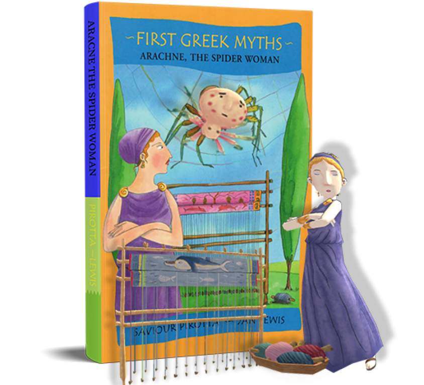 First Greek Myths: Arachne, The Spider Woman