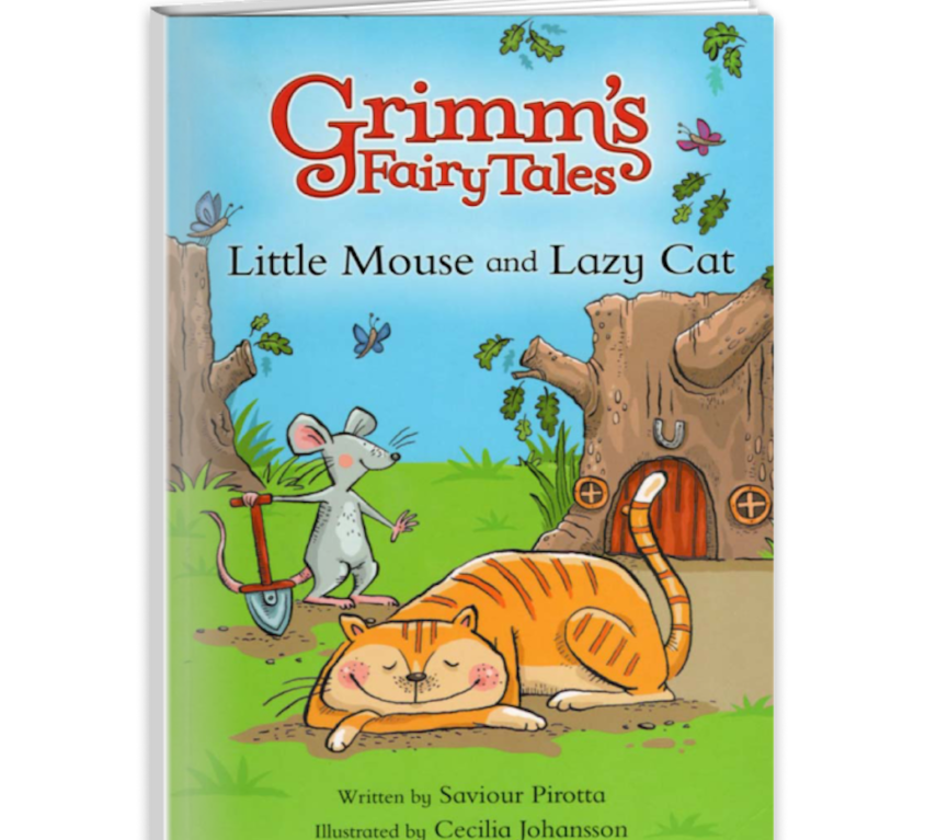 Grimm's Fairy Tales: Little Mouse and Lazy Cat