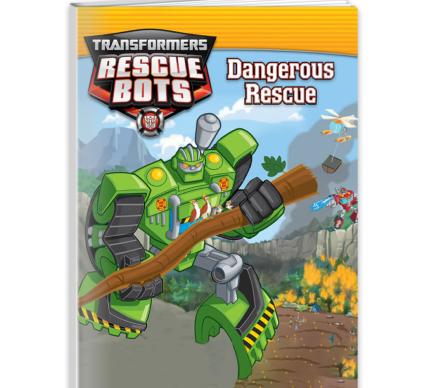 Transformers Rescue Bots: Dangerous Rescue