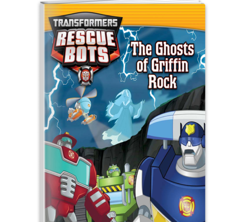 Transformers Rescue Bots: The Ghosts of Griffin Rock