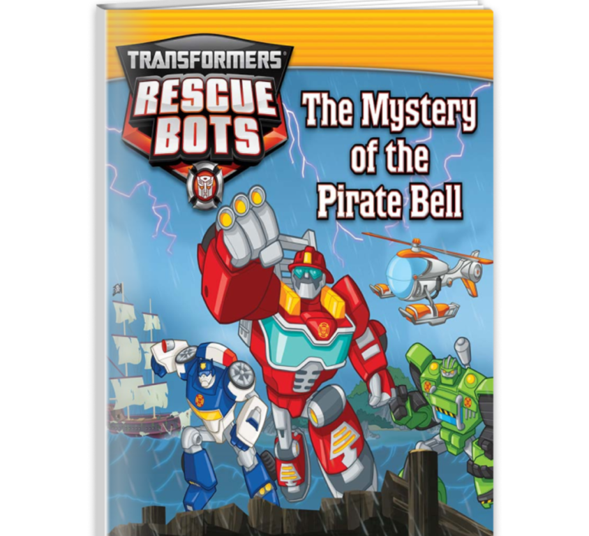 Transformers Rescue Bots: The Mystery of the Pirate Bell