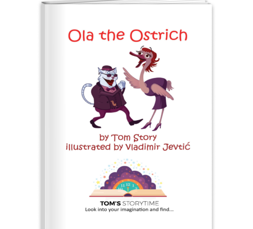 Ola the Ostrich